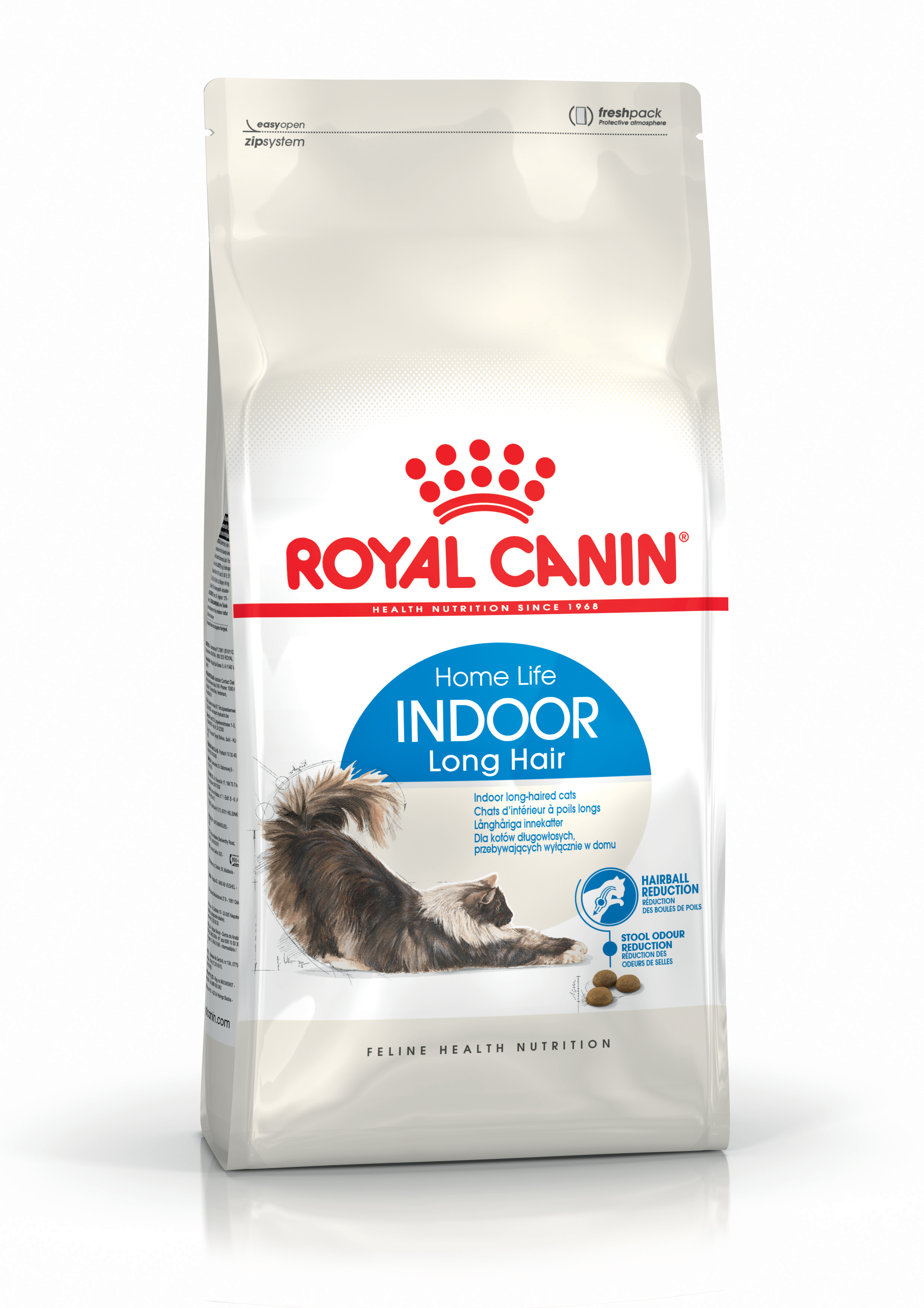 Royal Canin (Роял Канин) Indoor Long Hair 35 для домашних длинношерстных кошек