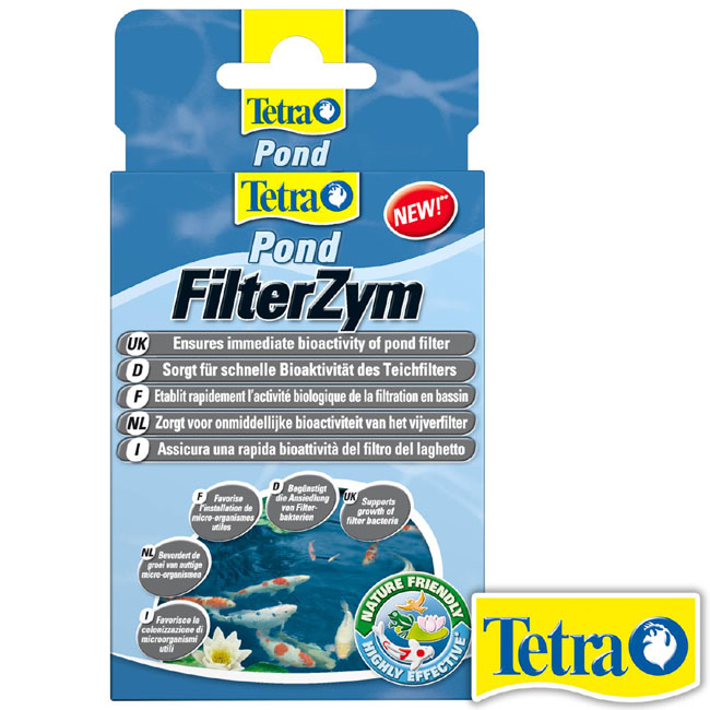Препарат TetraPond Filter Zym (10 капсул)